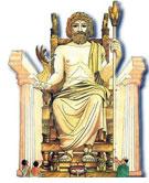 Зевс был царем богов бога неба и